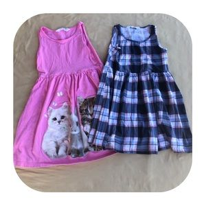 2 H&M Dresses Girls size 6-8 yrs